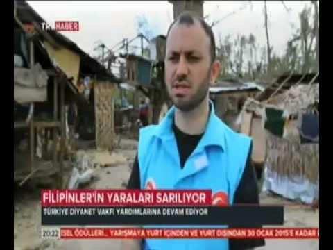Türkiye Diyanet Vakfı Filipinler'de yaraları sarmaya devam ediyor