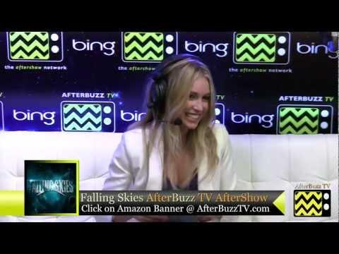 Falling Skies After Show w/ Sarah Carter Season 2 Episode 5   AfterBuzz TV