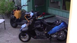 10. 2)-  PROJECT Honda  RUCKUS - HOW TO= Engine COMPLETE REBUILD