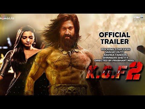K.G.F Chapter 2 Official Trailer | Yash | Srinidhi Shetty |Sanjay Dutt |Prashanth N |