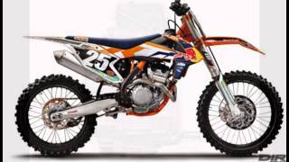 9. 2015 KTM Factory Edition 250 SX-F And 450 SX-F Unveiled