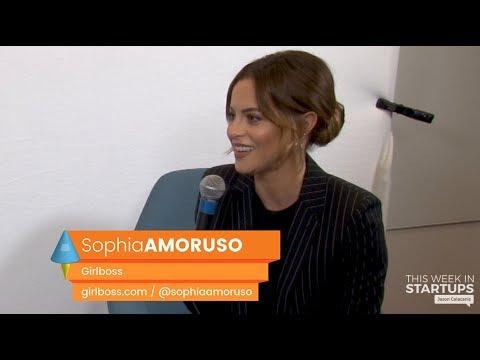 E962 Sophia Amoruso, Girlboss: new digital network for women, Nasty Gal lessons, inspiring women
