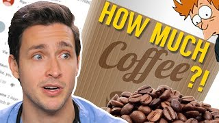 Video How Much Coffee Is Too Much? | Responding to Your Comments #10 MP3, 3GP, MP4, WEBM, AVI, FLV Maret 2019