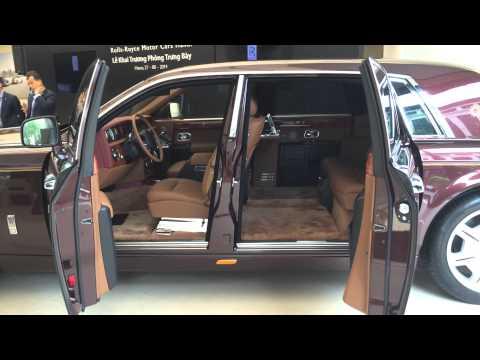 Rolls-Royce Phantom bản Mặt Trời Phương Đông