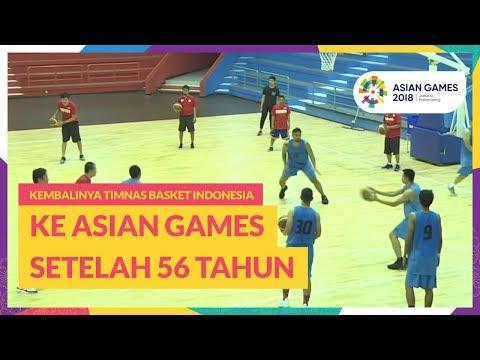 Kembalinya Timnas Basket Indonesia ke Asian Games Setelah 56 Tahun