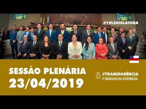 Sessão Plenária 23/04/19