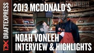 Noah Vonleh - 2013 McDonald's All-American Game - Interview & Practice Highlights