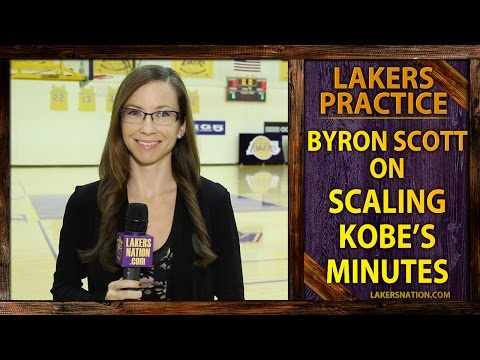 Video: Lakers Practice: Byron Scott Talks New Restrictions For Kobe Bryant