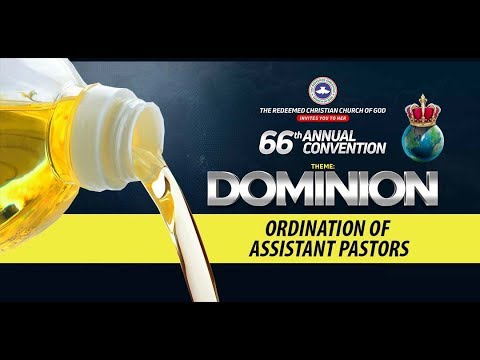DAY 2 RCCG HOLY GHOST CONVENTION 2018 - ORDINATION OF ASSISTANT PASTORS