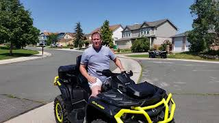 8. 2019 Can-Am outlander max XTP 1000 Stability test
