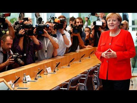 Αισιοδοξία Μέρκελ για την ελληνική οικονομία