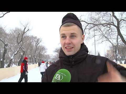 Чемпион России по мини-футболу Андрей Соколов новогодние праздники провёл на тюменских катках!