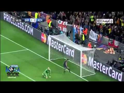 Barcelona vs Milan 4-0 Uefa champions League