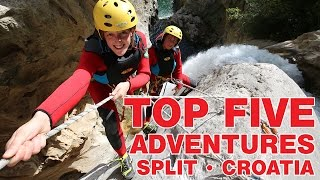Split Croatia  City new picture : Top Five Adventures - Split, Croatia
