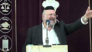"""הרב ברוך רוזנבלום – פרשת ויגש (ה'תשע""""ה)"""