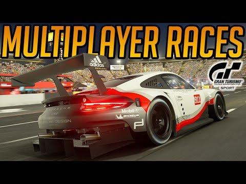 Gran Turismo Sport: Multiplayer Mayhem (Demo Gameplay) (видео)