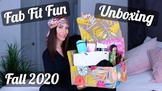 FabFitFun Fall 2020 Unboxing & Review by Channon Rose
