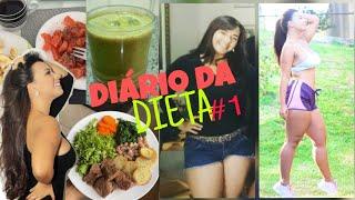 Emagrecer 10kg em uma semana - VlOG: Diário da dieta #1 Como eu perdi 13 kg em 45 dias.