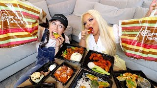 CHEESECAKE FACTORY MUKBANG & MY DATING LIFE feat TRISHA PAYTAS!