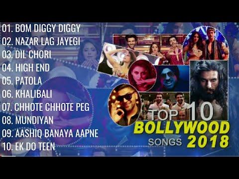 Top 10 Bollywood Songs 2018  (Audio Jukebox )  