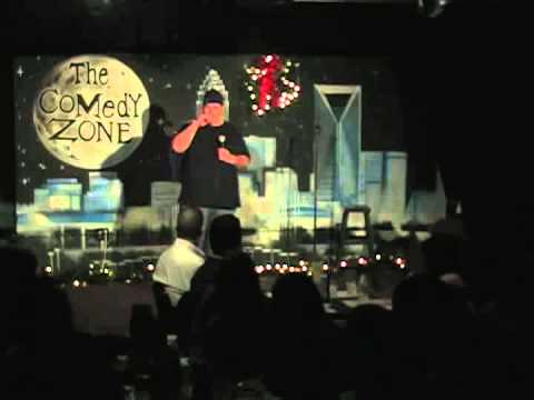 Paul Pallotta on 12-17-12 on Graduation Showcase Night for The Comedy Zone Comedy School