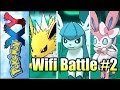 "Pokemon X and Y - Wifi Battle #2 - ""Eeveelution Team!"" - (Online Single Battle/Match)"