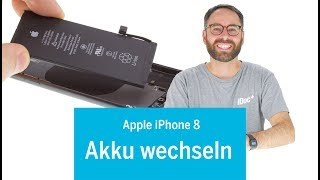 iPhone 8 Akku wechseln / Batterie tauschen / replace battery (EN subs)