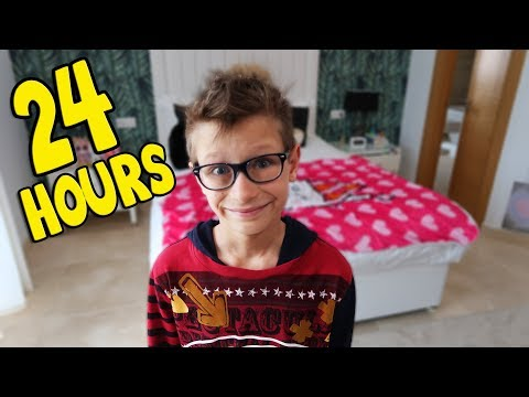 24 Hours Overnight in My Sisters Room!!!