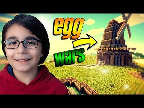SOLO MİNECRAFT! Minecraft: EGG WARS BKT