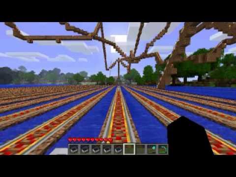 minecraft best rollercoaster ever