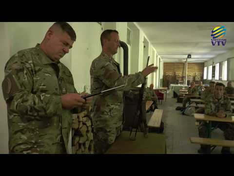Tartalékosok lövészeti kiképzése