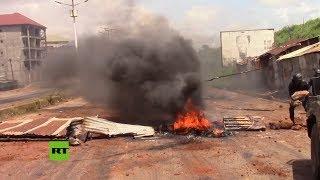 Guinea: 8 muertos durante las protestas contra el presidente del país