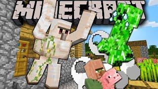 Minecraft 1.8 Pre-Release: Creeper VS Iron Golem War Update News, Burning Armor Stands, Release Date