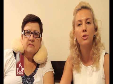 Отзыв Людмилы и ее дочери Екатерины о лечении в клинике Топ Ихилов.