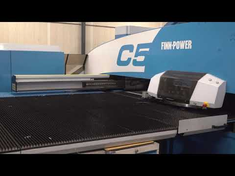 Revólver punch press FINN POWER Model C5 2009