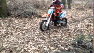 7. KTM SX 65 2012r. Oliver 7 years old first step!!!