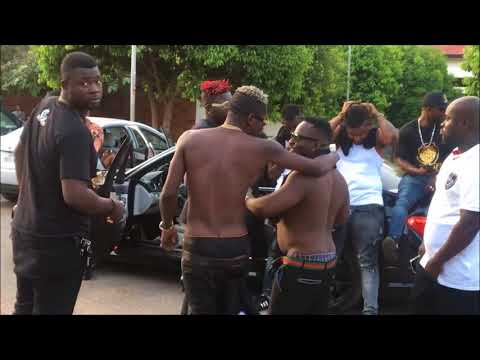 Shatta Wale Visits PENT UNIVERSITY OF GHANA to see his new girl