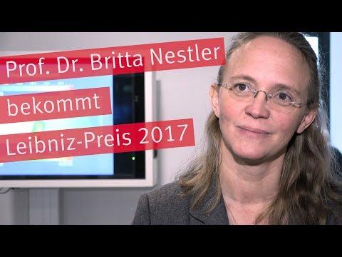 Leibniz-Preis 2017 für Prof. Dr. Britta Nestler