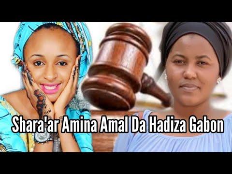 Gulmar Kannywood!!! Shari'ar Hadiza Gabon Da Amina Amal Akan 50 Millions da zata bata.....