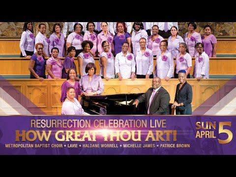 Resurrection Celebration How Great Thou Hart Image