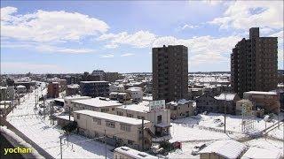 Kumagaya Japan  city photo : Heavy snow - Kumagaya, JAPAN (near Tokyo) 記録的な大雪なった埼玉県・熊谷市街地の様子