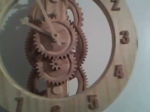 Brian Law - All wood clock, built in February 2012 of mostly Oak and select pine. If you like it, please Subscribe to my YouTube channel. The clock was designed by Brian...