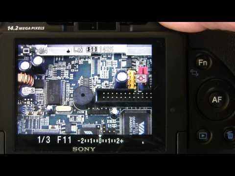 Sony Alpha DSLR A500 / A550 review