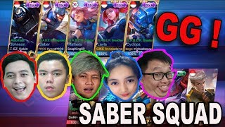 Video TEAM YOUTUBER PAKE SEMUA SKIN EPIC S.A.B.E.R ! MICHAEL SOUW LANGSUNG MANIAC !! MP3, 3GP, MP4, WEBM, AVI, FLV September 2018