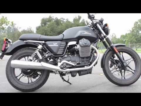 The Snob Magazine Reviews the 2013 Moto Guzzi V7 Stone