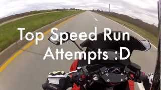 8. Ninja 650R Top Speed Run Attempts.mp4