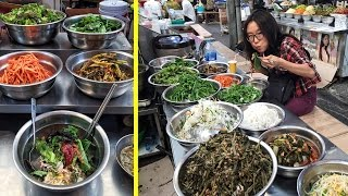 Video Eating Bibimbap at Gwangjang Market & Other Korean Street Food MP3, 3GP, MP4, WEBM, AVI, FLV November 2017