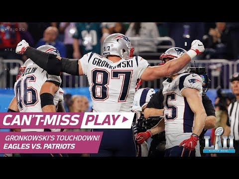 Video: Brady & Gronk Connect 4 Times on TD Drive to Start the 2nd Half | Can't-Miss Play | Super Bowl LII