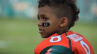 Miami Football Team Makes a Dream Come True For Carter Hucks (Make-A-Wish)