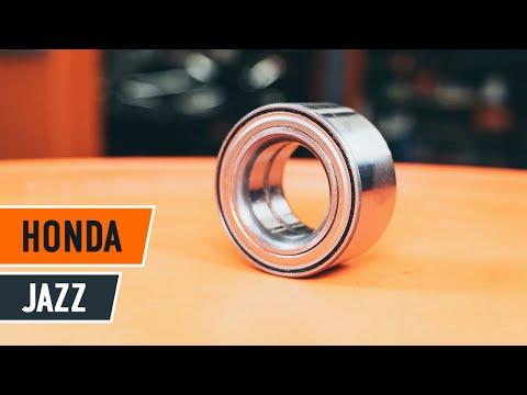 Wymiana łożysko koła przedniego HONDA JAZZ 1 TUTORIAL | AUTODOC видео